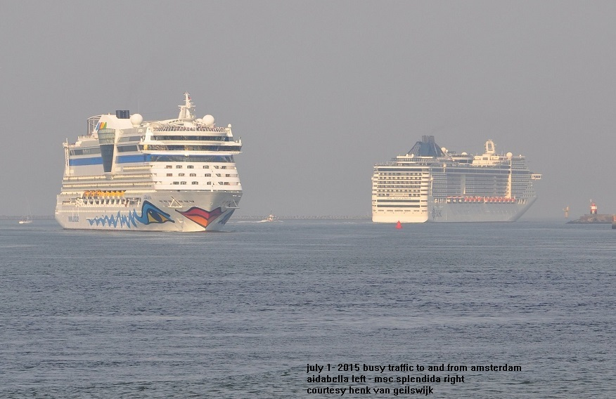 Cruise Terminals In The Netherlands And Belgium